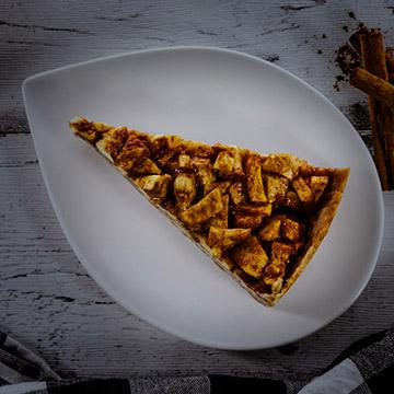organic apple pie